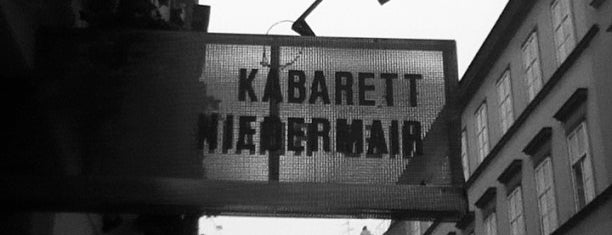 Kabarett Niedermair is one of Orte, die Harry gefallen.