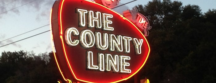 County Line on the Lake is one of Best BBQ in Texas!.