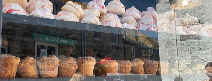 St Ives Bakery is one of Cornwall.