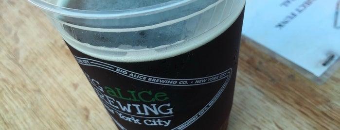Big Alice Brewing is one of Orte, die Erik gefallen.