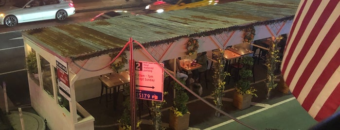 Five Mile Stone is one of Heated Outdoor Dining in NYC.