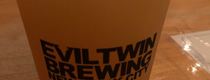 Evil Twin Brewing NYC is one of Lugares favoritos de Nick.