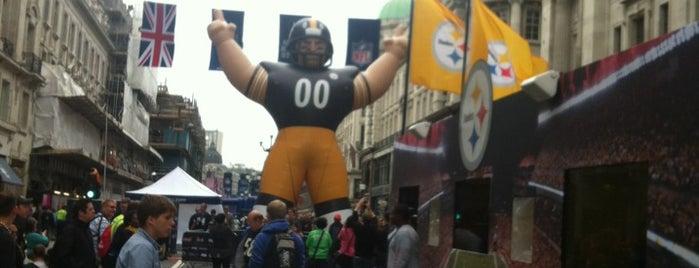 NFL on Regent Street is one of Locais curtidos por Adam.