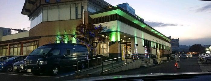 寒河江花咲か温泉 ゆ~チェリー is one of モリチャンさんのお気に入りスポット.