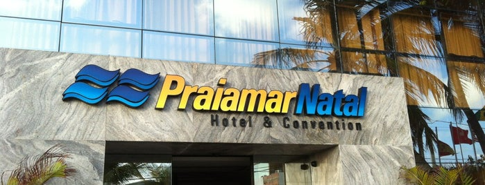 Praiamar Natal Hotel & Convention is one of Posti che sono piaciuti a Maria Luiza.