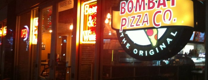 Bombay Pizza Co. is one of restaurants.