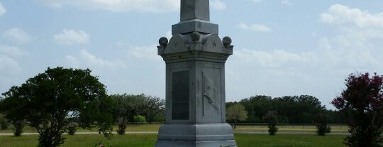 Fannin Battle Ground State Historic Site is one of Goliad, TX.