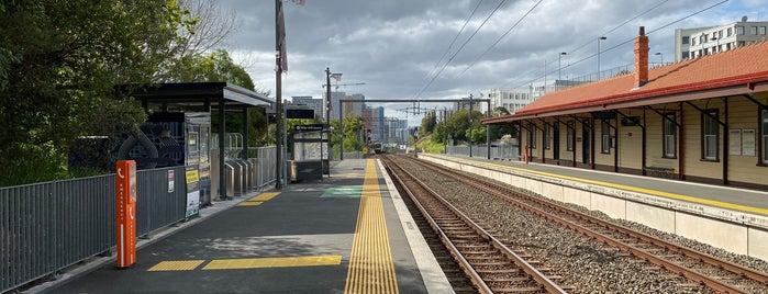 Parnell Train Station is one of Locais curtidos por Ricardo.