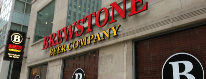 Brewstone Beer Company is one of United Mileage Plus Dining Spots.