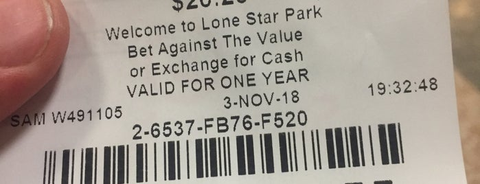 Lone Star Park box 533 is one of Locais curtidos por Tammy.