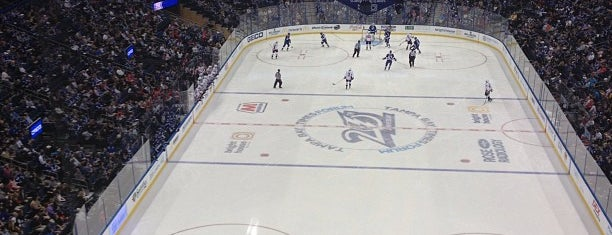 Amalie Arena is one of NHL Arenas 2013.