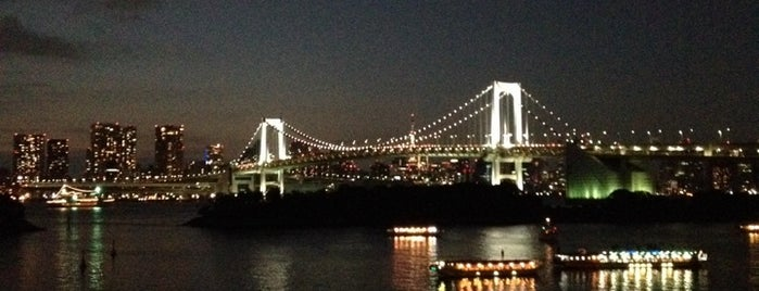 Odaiba Marine Park is one of Top photography spots.