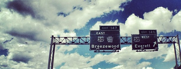 Breezewood, PA is one of Road Trip!.