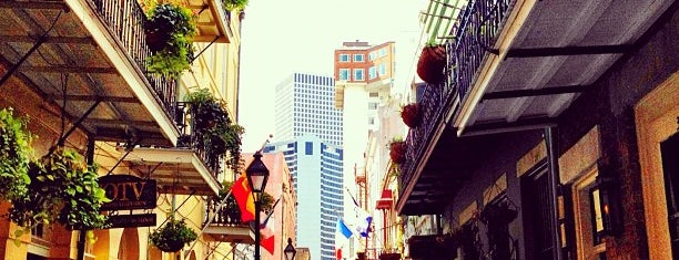 Exchange Alley is one of New Orleans.