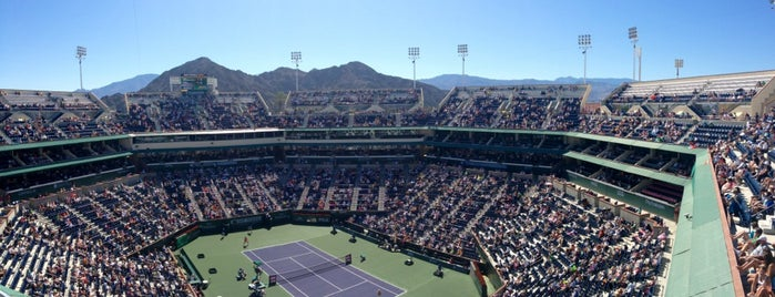 Indian Wells Tennis Garden is one of Orte, die Jana gefallen.