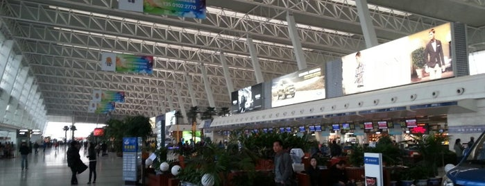 Wuhan Tianhe International Airport (WUH) is one of Lieux qui ont plu à Chris.