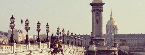 Pont des Invalides is one of Paris.