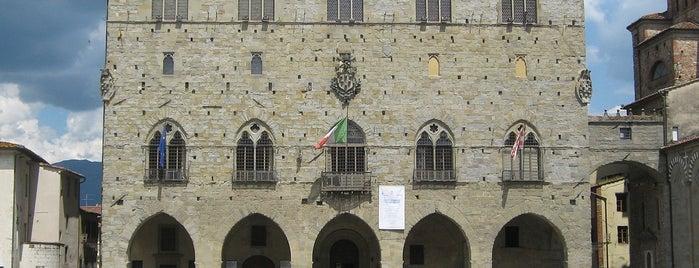 Palazzo degli Anziani is one of Pistoia.