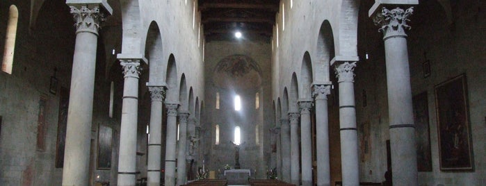 Chiesa di S. Bartolomeo in Pantano is one of Pistoia.