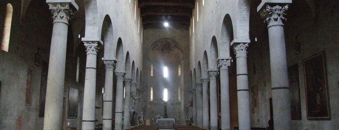 Chiesa di S. Bartolomeo in Pantano is one of Pistoia.