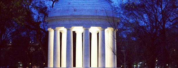 District of Columbia World War I Memorial is one of Tempat yang Disimpan erio.