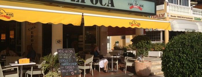 Cafetería Época is one of Tenerife.
