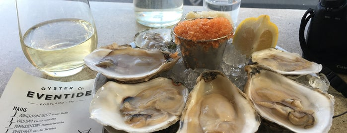 Eventide Oyster Co. is one of USA #4sq365us.