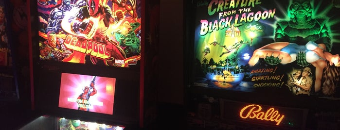 The Racket Bar & Pinball Lounge is one of Seattle & Washington St.
