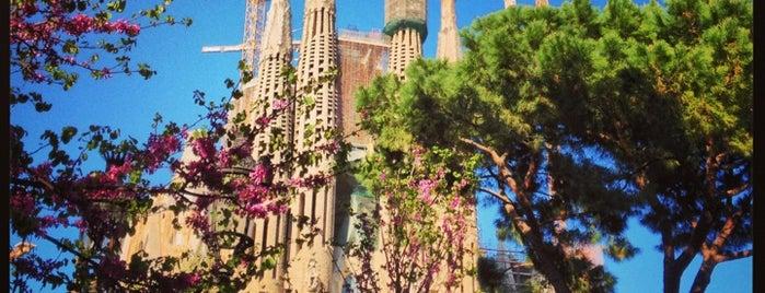 Plaça de la Sagrada Família is one of BARCA!.