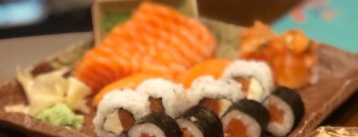 Daásu sushi bar is one of Orte, die Káren gefallen.