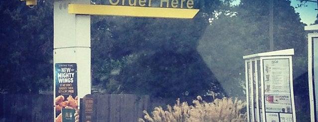 McDonald's is one of David : понравившиеся места.