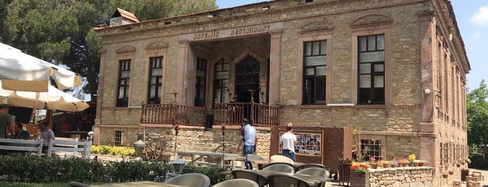 Artemis Restaurant & Şarap Evi is one of İZMİR EATING AND DRINKING GUIDE.