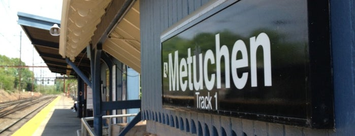 NJT - Metuchen Station (NEC) is one of Essen 14.