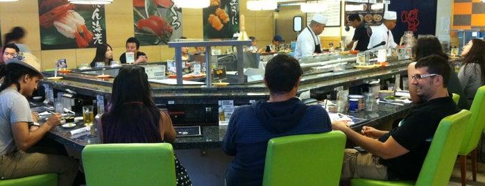Gatten Sushi Revolving Sushi Bar is one of Estebanさんの保存済みスポット.
