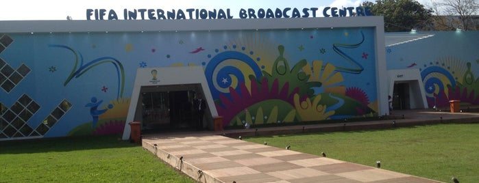FIFA World Cup 2014 - International Broadcast Centre is one of JRA 님이 저장한 장소.