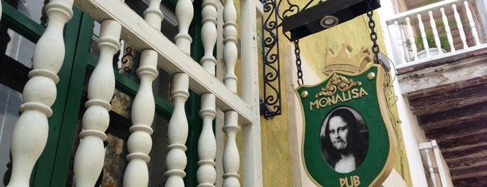 Monalisa Pub is one of cartagena.