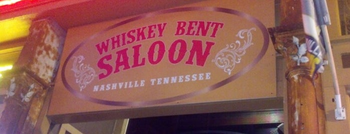 Whiskey Bent Saloon is one of Nashville To Do List.
