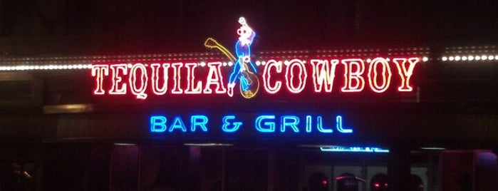 Tequila Cowboy is one of nashville.