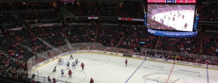 Capital One Arena is one of NHL (National Hockey League) Arenas.