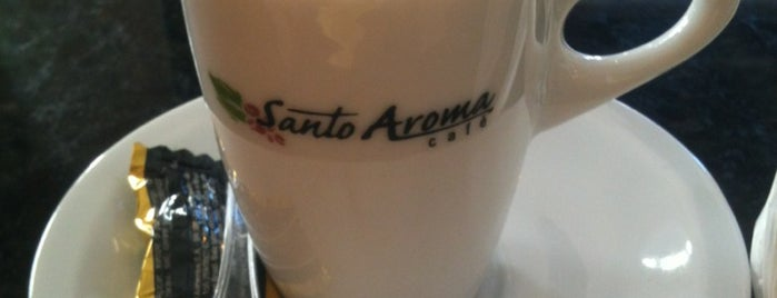 Santo Aroma Café is one of Uberaba.