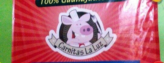 "Carnitas ""La luz"" is one of Oaxaca."