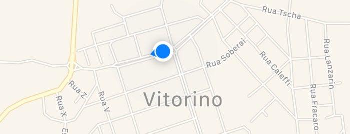 Vitorino is one of Cidades paranaenses.