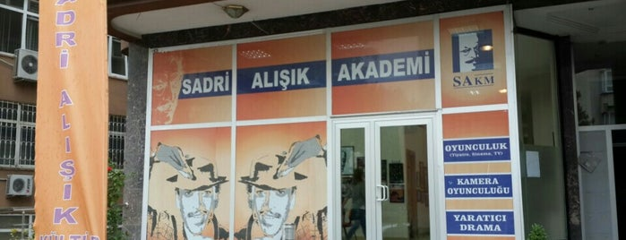 Sadri Alışık Kültür Merkezi Ankara is one of Ankara.