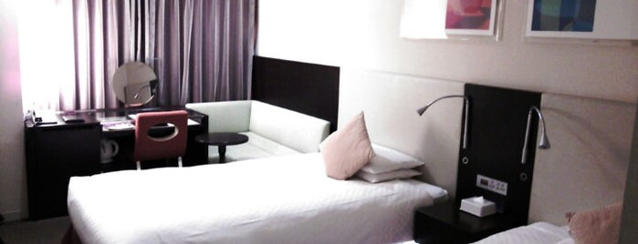 Hotel JAL City Kannai Yokohama is one of Posti che sono piaciuti a MAC.