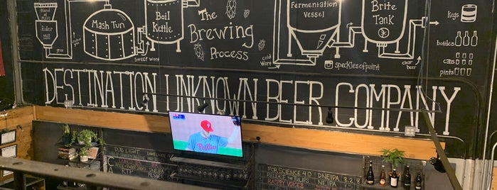 Destination Unknown Beer Company is one of Breweries To Do.