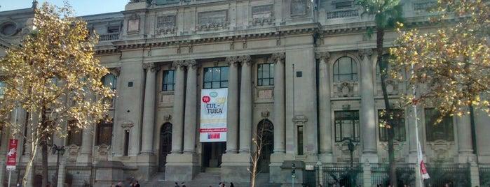 Biblioteca Nacional de Chile is one of #SantiagoTrip.