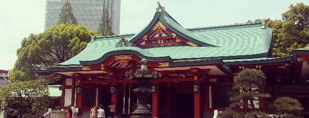 Sanno-Hie Shrine is one of Tokyo.