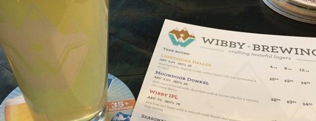 Wibby Brewing Company is one of Locais curtidos por Amy.