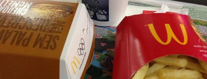 McDonald's is one of Tempat yang Disukai Priscila.