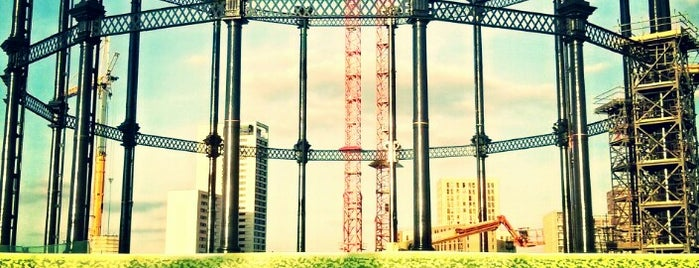 Gasholder Park is one of Orte, die Paul gefallen.